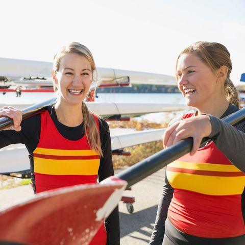 woman rowers