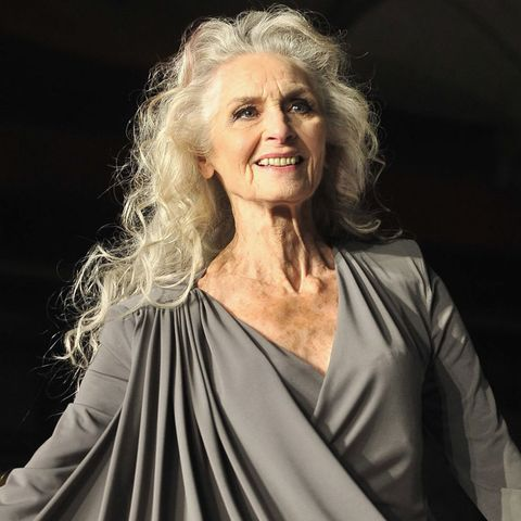 Daphne Selfe grey hair