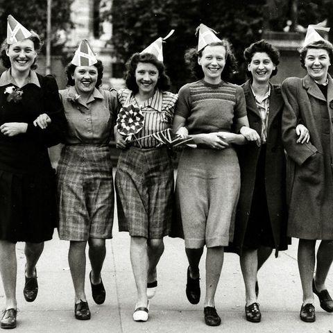 Women on VE Day