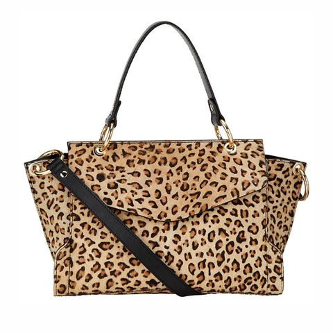 Somerset by Alice Temperley leopard print handbag