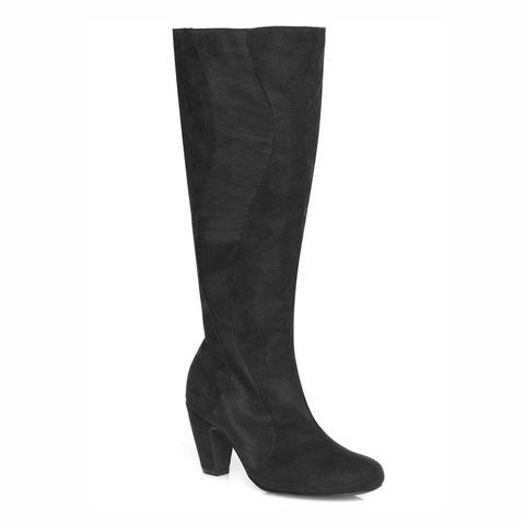 Evans Suedette Boots
