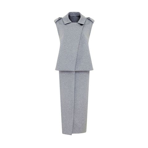 Marks and Spencer Limited London grey marl sleeveless jacket