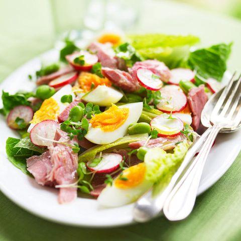 Egg Ham And Cress Salad