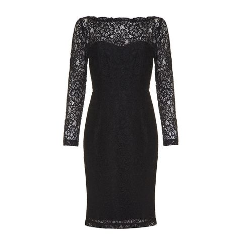 Almost Famous scalloped lace dress