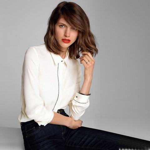 La Redoute white shirt