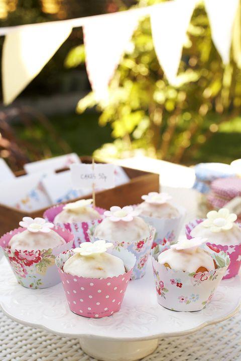 Handmade cupcake wrappers