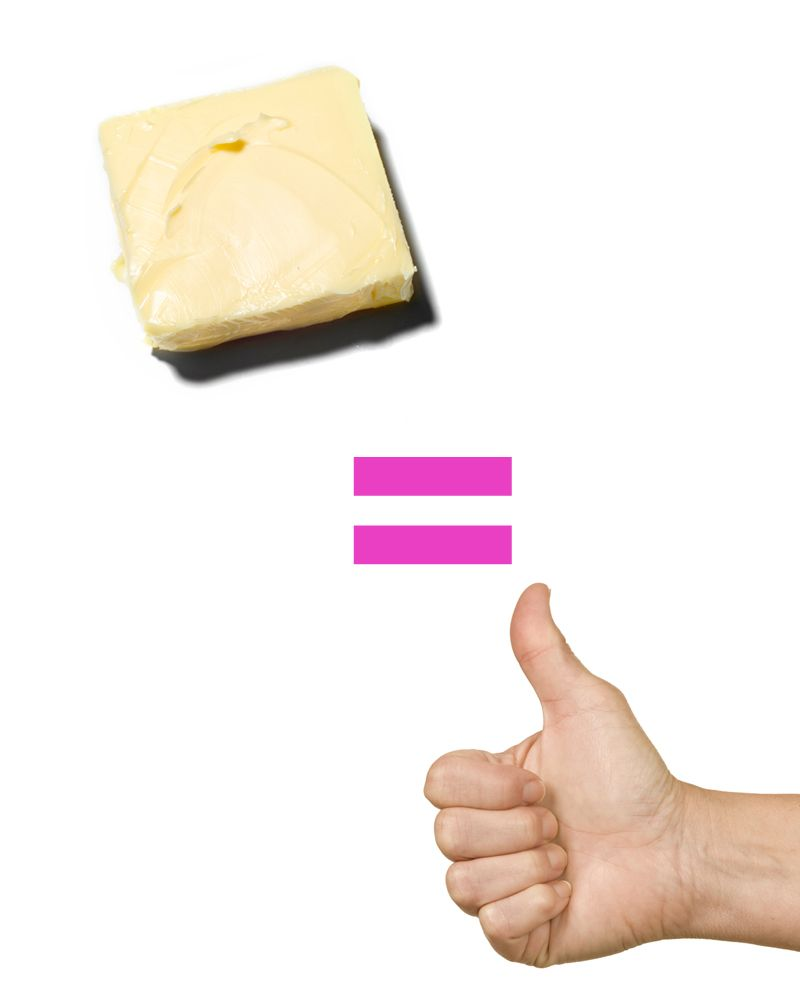 SErving size of butter