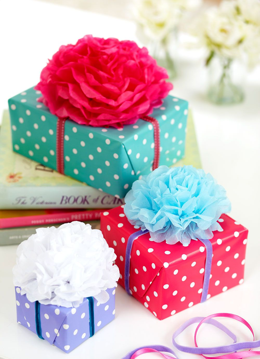 Make Handmade Tissue Paper Flowers