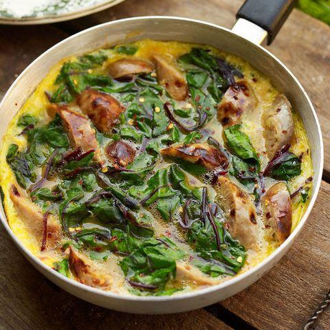 Sausage and Swiss Chard Recipe