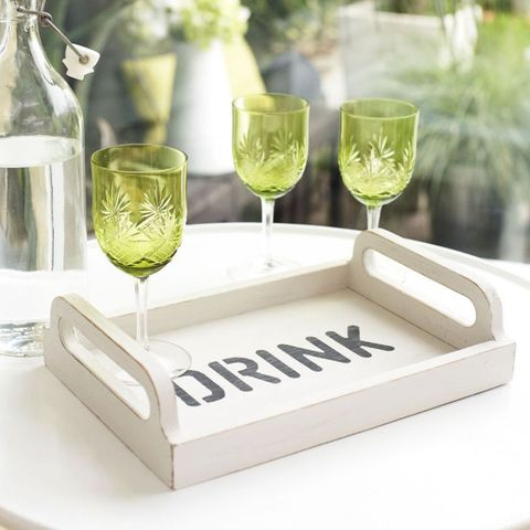 Drinks tray stencils