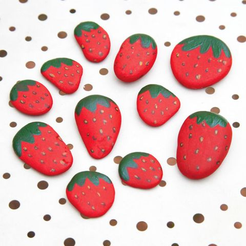 Strawberry table decorations