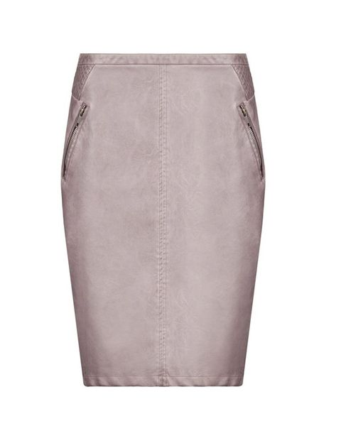 Sandwich at House of Fraser Faux leather skirt