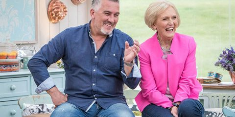 Mary Berry and Paul Hollywood Great British Bake Off