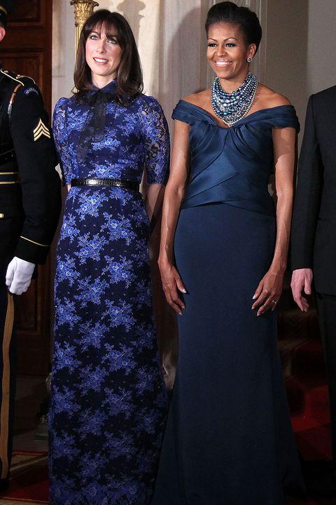 Michelle-Obama-and-Samantha-Cameron