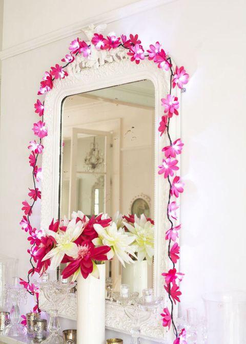 Floral fairy lights