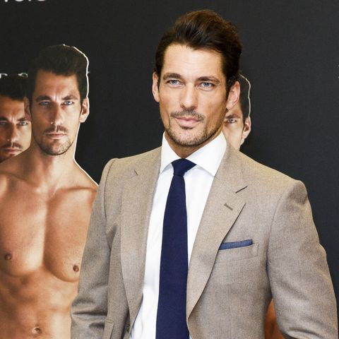 LONDON, ENGLAND - SEPTEMBER 18:  David Gandy attends a photocall to launch his collection for Marks and Spencer Autograph at M&S on September 18, 2014 in London, England.  (Photo by Tristan Fewings/Getty Images)