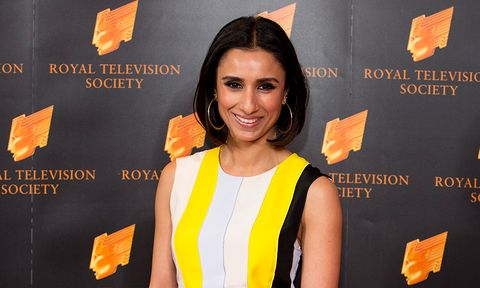 anita rani wows in the perfect white dress for summer