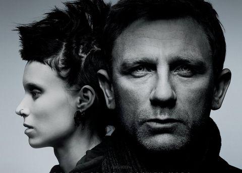 Rooney Mara Daniel Craig The Girl With The Dragon Tattoo