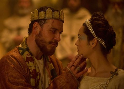 Michael Fassbender and Marion Coutillard in Macbeth