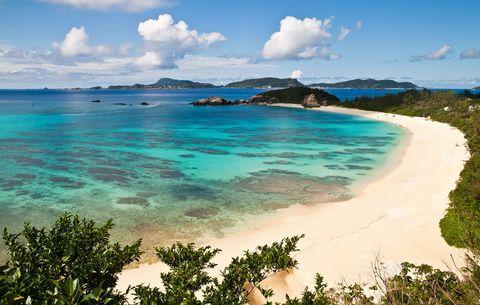 Aharen Beach, Tokashiki Island, Japan