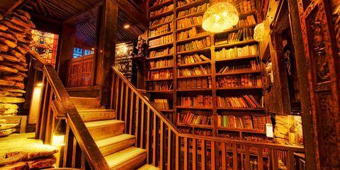 Unusual bookshops