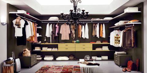 Walk in wardrobe archiexpo