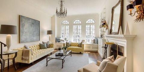 Cadace Bushnell Manhatten apartment living room