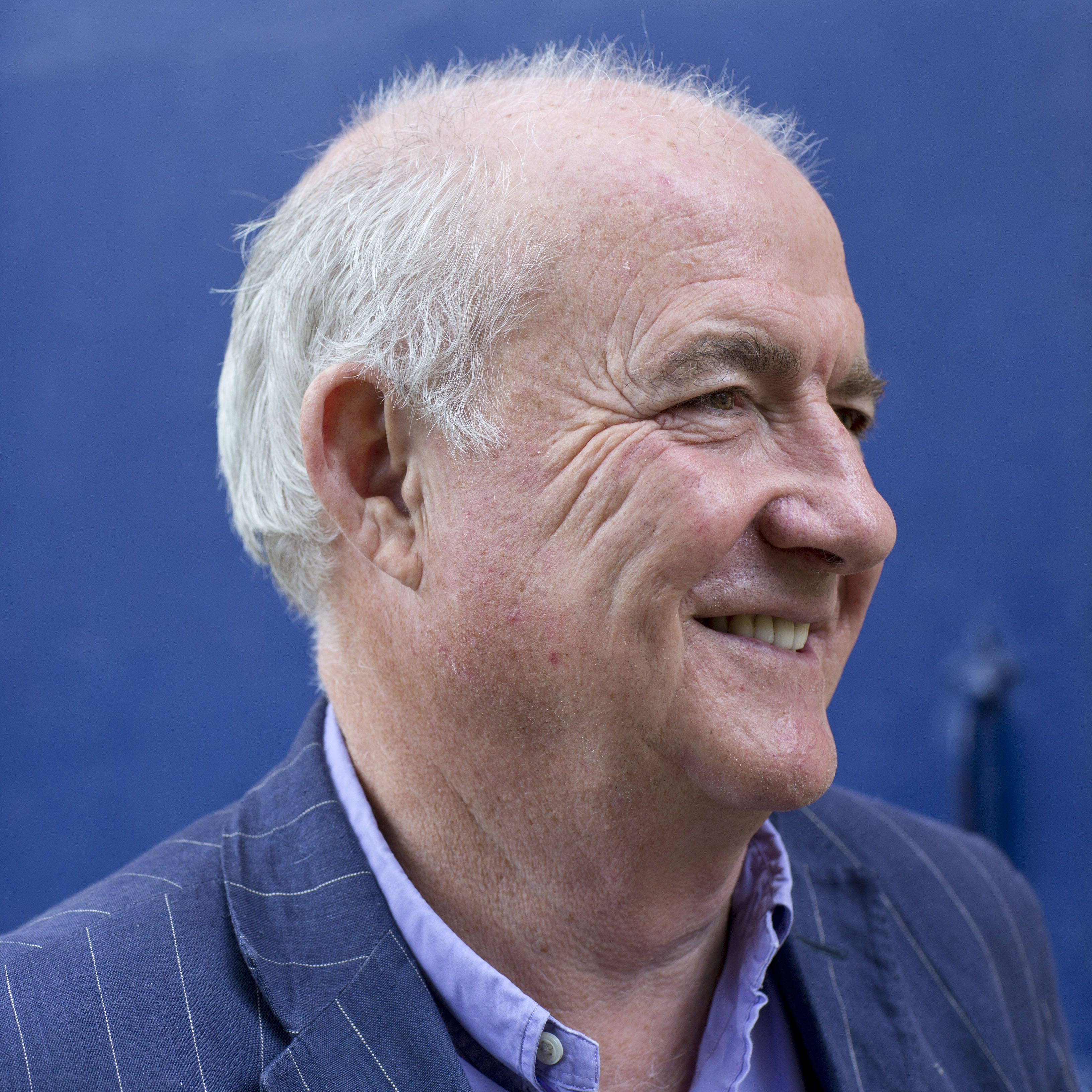 WOODSTOCK, ENGLAND - SEPTEMBER 18:  Chef, broadcaster and food writer Rick Stein poses at the Blenheim Palace Literary Festival on September 18, 2013 in Woodstock, England.  (Photo by David Levenson/Getty Images)