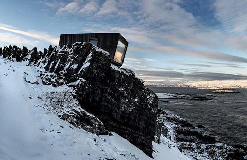 Cabin Varanger, Arctic Norway