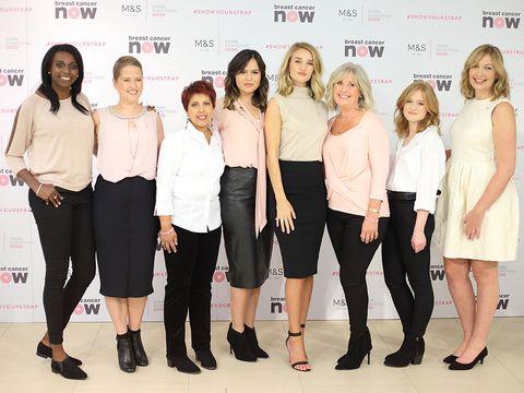 Rosie Huntington Whiteley Marks & Spencer Breast Cancer Awareness Month