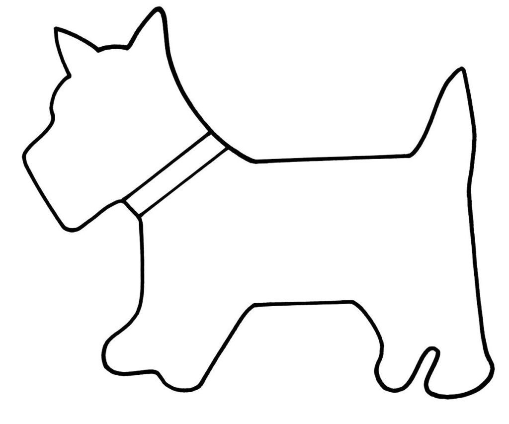 scottie dog template free - Selo.l-ink.co