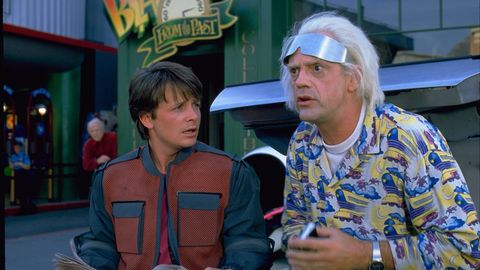 Marty McFly Doc Brown back to the Future