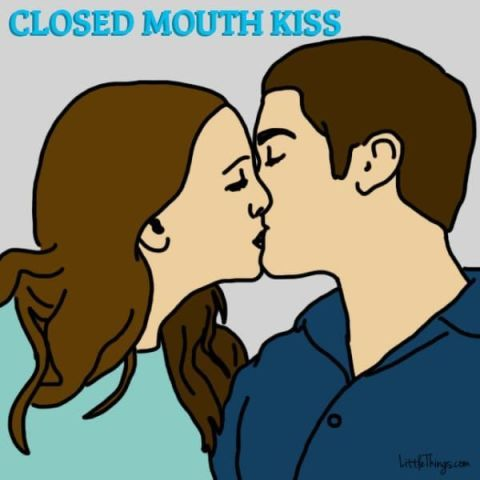 Closed Mouth Kiss