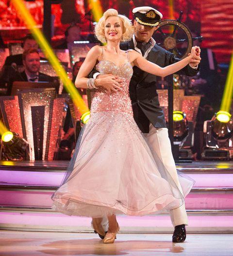 Helen George and Aljaz Skorjanec Strictly Come Dancing