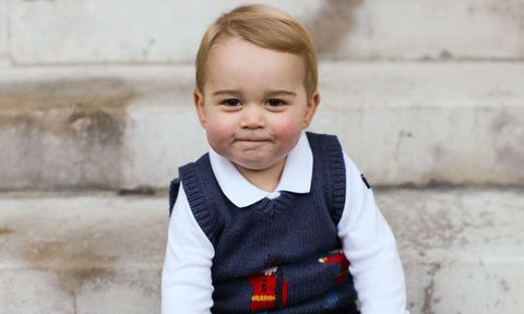 Prince George, son of Duke and Duchess of Cambridge and future heir to the British throne