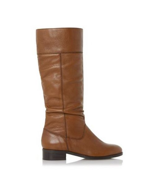 Tymone slouched knee high boot, £99, 3-8, Dune