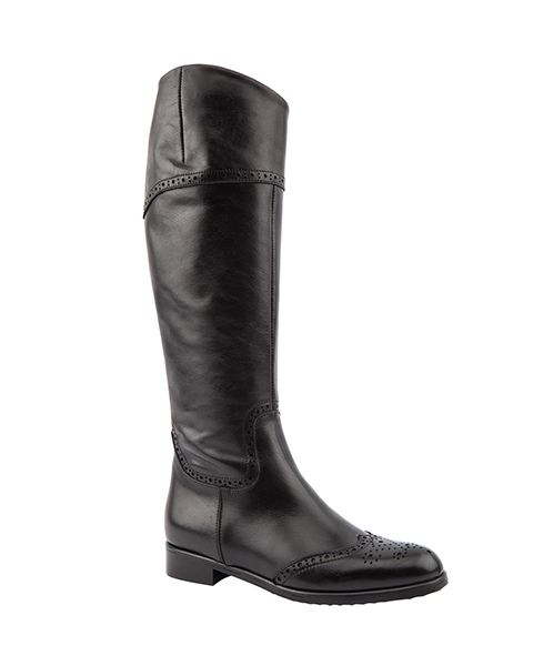 Paula Slim Knee Length Boots, £160, 4-9, Jones Bootmaker