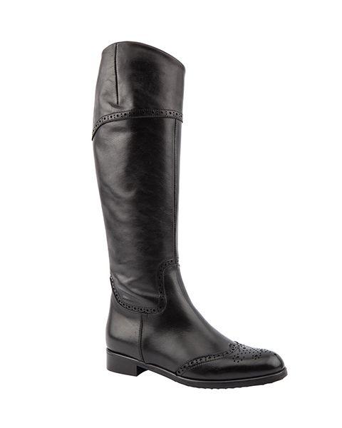 Paula Slim Knee Length Boots, £160, 4-9, Jones Bootmaker