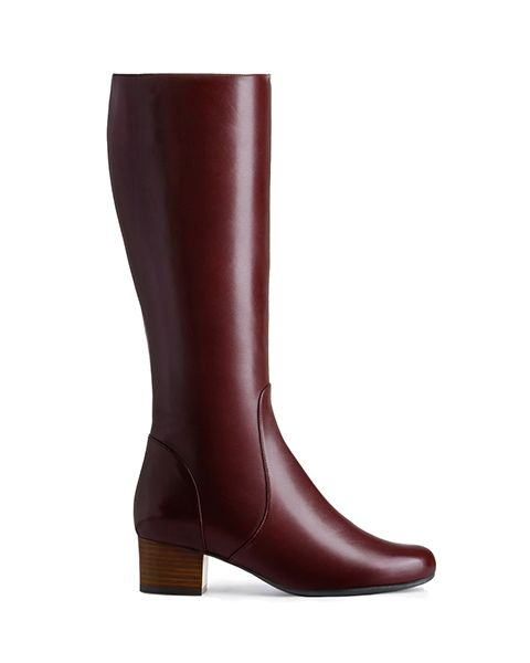 Artemis knee high boot, £225, 2-9, Ted and Muffy