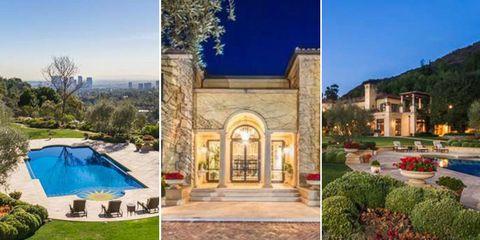 Elton John Beverley Hills mansion