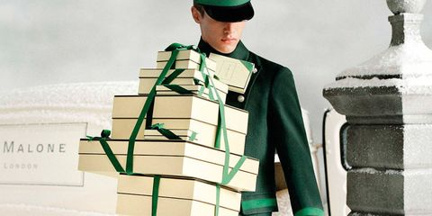 jo malone boxes being delivered