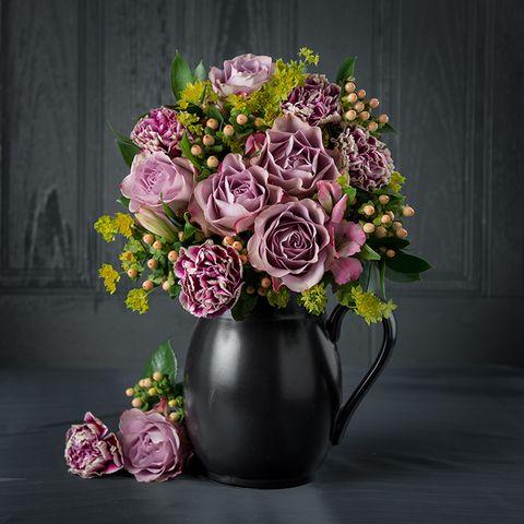 Appleyard Flowers Vintage Lace Bouquet