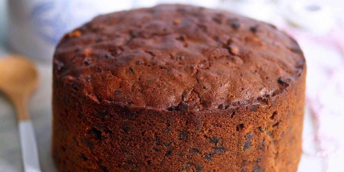 Fruit Cake Recipe Uk Easy: Make-Ahead Cherry Brandy Christmas Cake Recipe