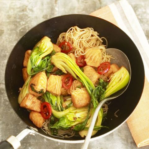 Beautiful Bok Choi And Salmon Stir Fry