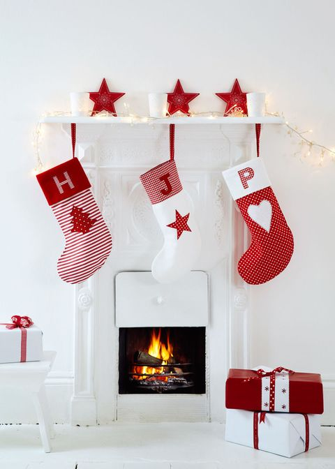 Personalised Christmas Stockings: Free Sewing Pattern