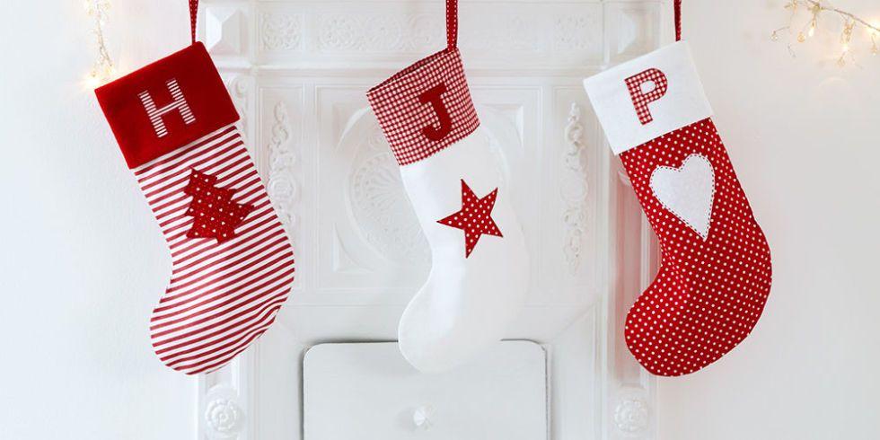 Personalised Christmas Stockings Free Sewing Pattern