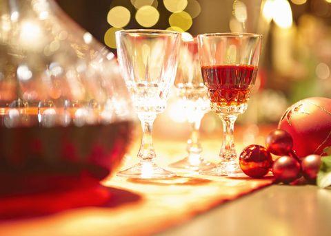 Red wine Christmas