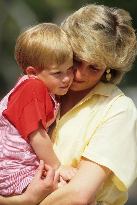Prince Harry and Princess Diana