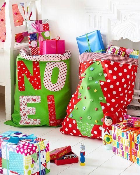 How to make a Christmas sack