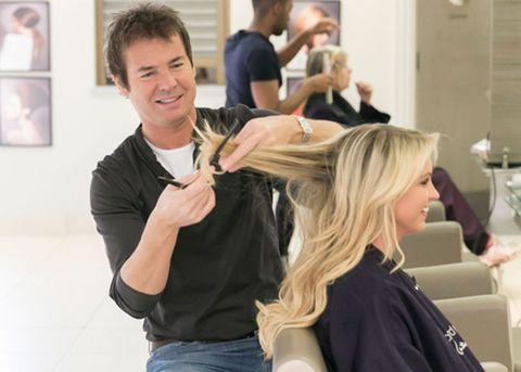 Hairdresser Richard Ward